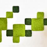 panele dark green 25x25cm i spring green 50x50cm